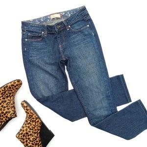 Paige • Skyline Drive skinny darkwash jeans